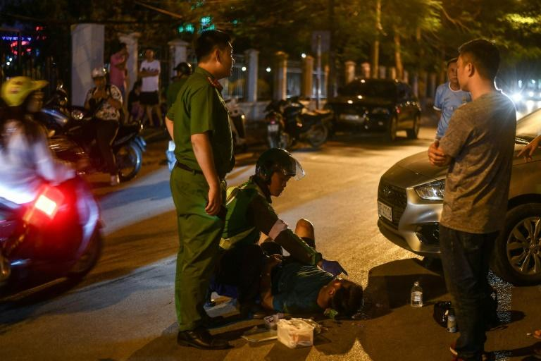 Although more serious accidents are now relatively rare in the capital, victims often face a wait for help as congestion blocks the path of medics