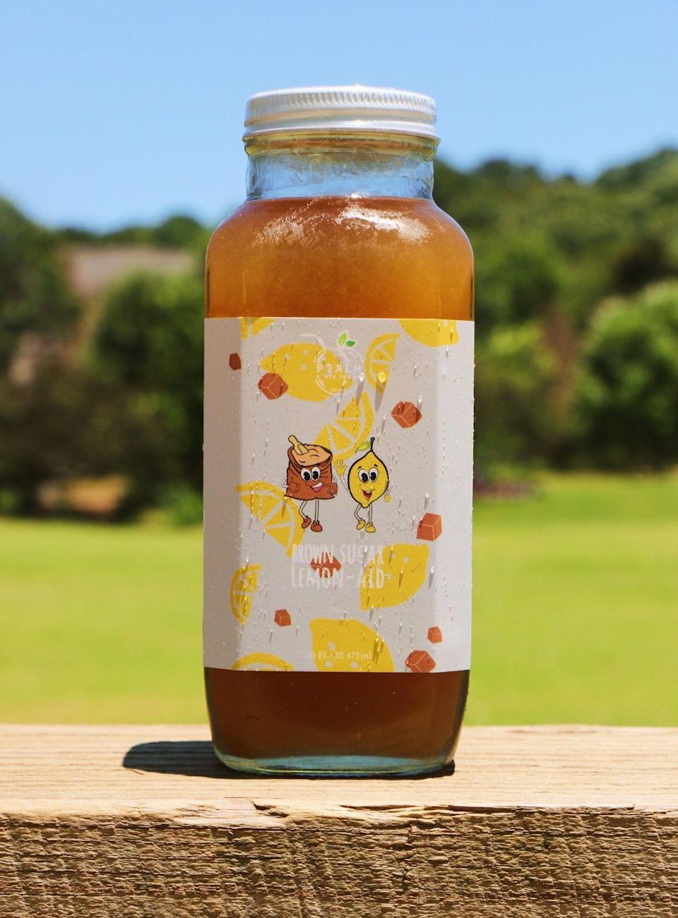 """<p><strong>Original Brown Sugar Lemon-Aid</strong></p><p>peachstatedrinks.com</p><p><strong>$65.50</strong></p><p><a href=""""https://www.peachstatedrinks.com/product/original-brown-sugar-lemon-aid/"""" rel=""""nofollow noopener"""" target=""""_blank"""" data-ylk=""""slk:BUY NOW"""" class=""""link rapid-noclick-resp"""">BUY NOW</a></p><p>What started as just a hobby turned into a legit business for Peach State Drinks' founders. Their line-up of brown sugar and agave-sweetened lemonades are all fresh and hand-pressed. You can sip on the Original Brown Sugar Lemon-Aid year-round, and the makers rotate other flavors seasonally (like mango and peach in the summer!).</p>"""