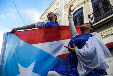Protests calling for the resignation of Governor Ricardo Rossello in San Juan