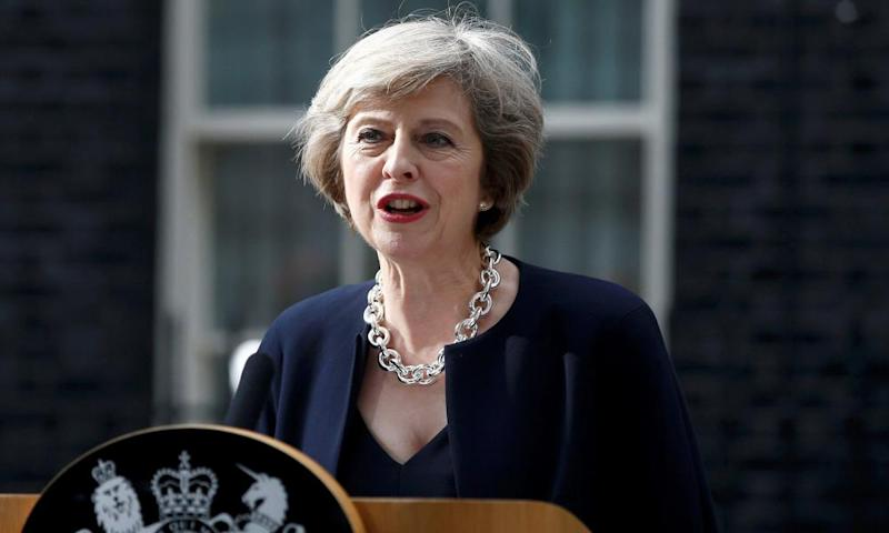 "Theresa May promised to address ""burning injustices"" in her first speech as prime minister in July 2016."