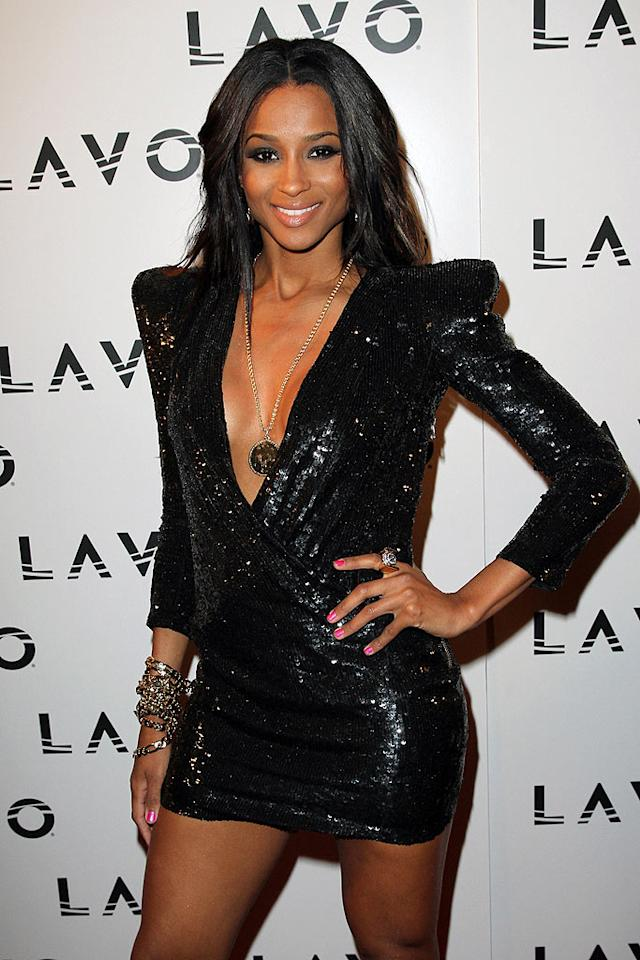 """October 25: Ciara turns 25 Taylor Hill/<a href=""""http://www.gettyimages.com/"""" target=""""new"""">GettyImages.com</a> - September 14, 2010"""