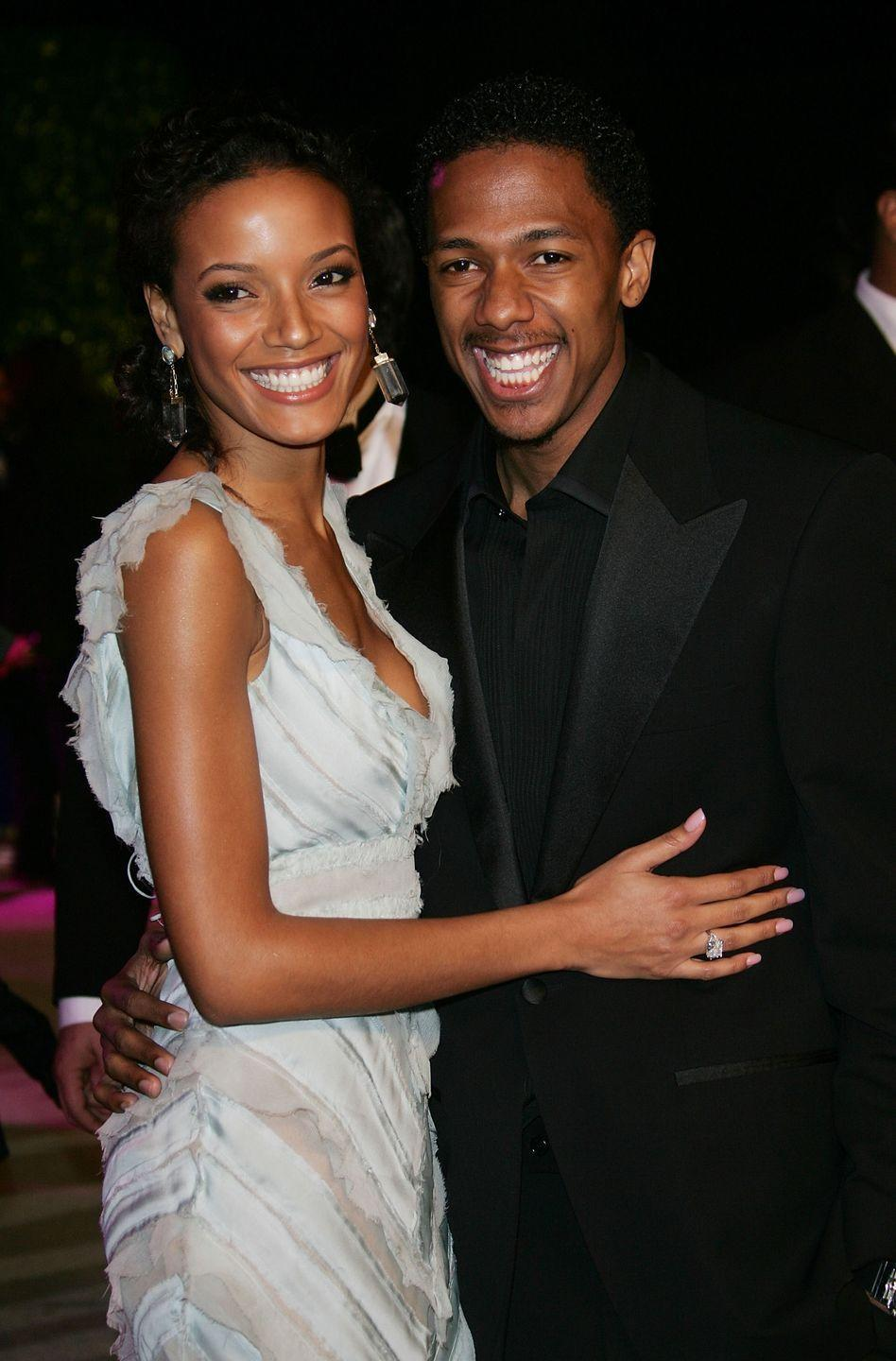"""<p>Cannon and the former Victoria's Secret model got engaged in May 2007 but decided to split up five months later. """"I was very young, he was young,"""" <a href=""""https://hellobeautiful.com/2690114/selita-ebanks-reveals-why-she-parted-ways-with-exes-terrence-j-nick-cannon/"""" rel=""""nofollow noopener"""" target=""""_blank"""" data-ylk=""""slk:Banks said"""" class=""""link rapid-noclick-resp"""">Banks said</a>. """"Everything happens for a reason. It taught me a lot, especially with media. Y'all was brutal. I was called everything under the sun for just getting engaged.<span class=""""redactor-invisible-space"""">"""" </span></p>"""