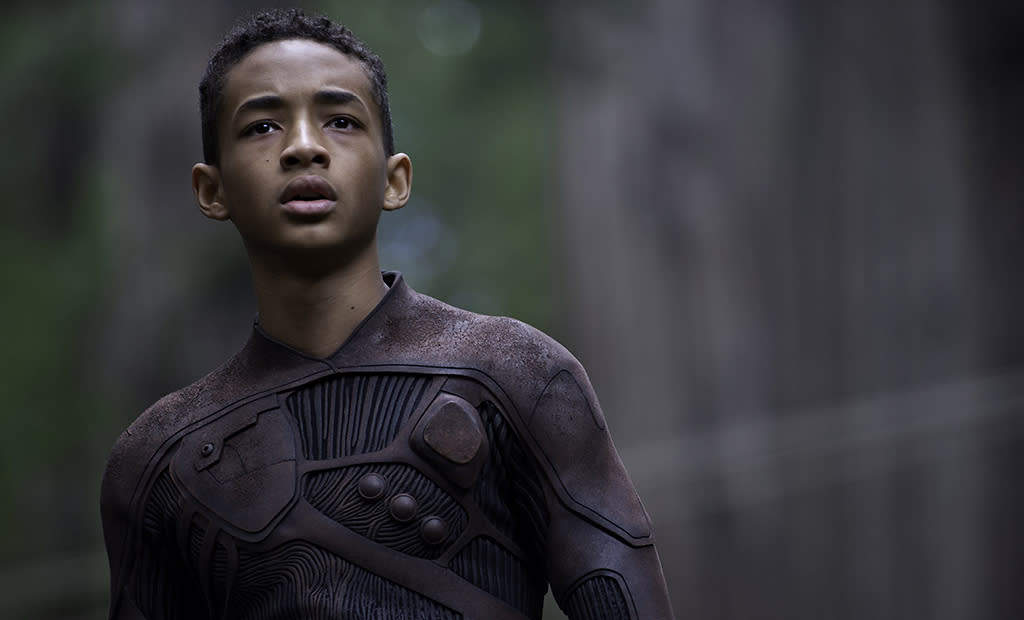 """Jaden Smith in Columbia Pictures' """"After Earth"""" - 2013"""