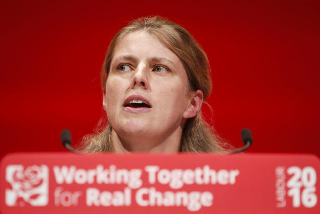 Rachael Maskell pictured at the 2016 Labour Party conference. (PA)