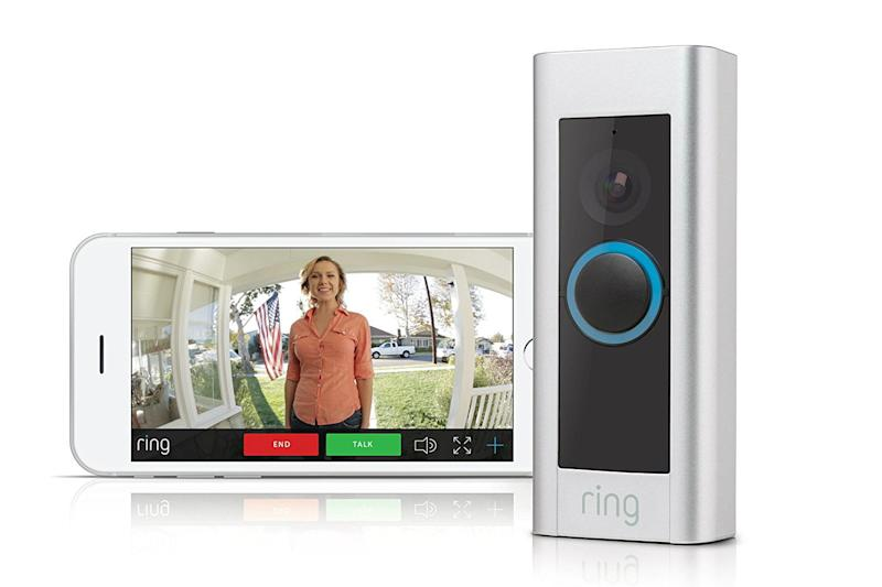smart home devices ring doorbell pro