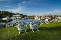 """<p>Maine's motto is """"The Way Life Should Be"""" for a reason. In the coastal town of Ogunquit, Maine, you can take in a play at their amazing theater, or you can kick back in an Adirondack chair and watch the boats go by. </p>"""