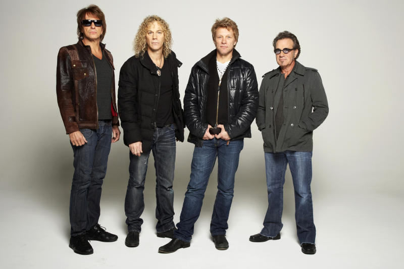 Drummer's appendectomy forces Bon Jovi tour change