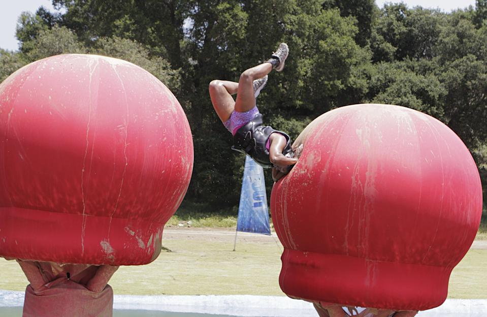 Total Wipeout is returning with a new best-of. (Photo by Mike Weaver/Walt Disney Television via Getty Images)