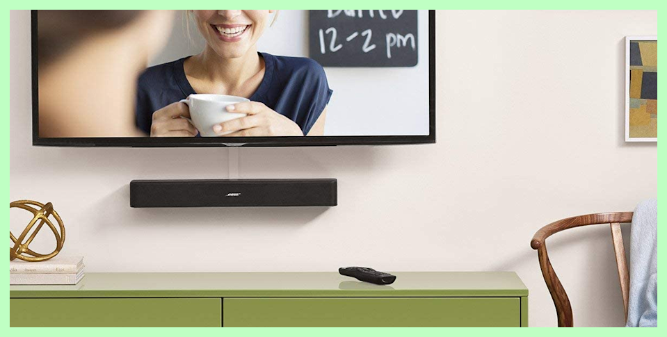 This slim device blend seamlessly and deliver major sound. (Photo: Bose)