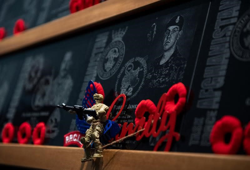 Canadians killed in Afghanistan honoured during emotional dedication ceremony