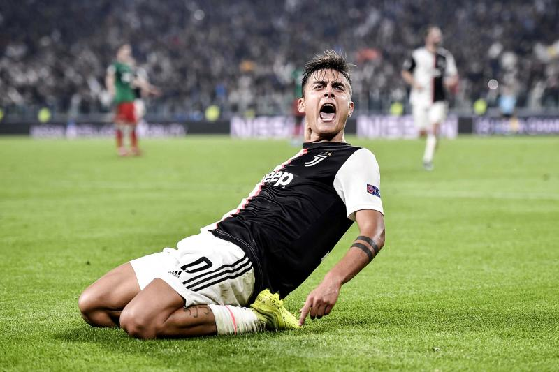 Paulo Dybala's magical two-minute sequence hauled Juventus past Lokomotiv Moscow. (Getty)