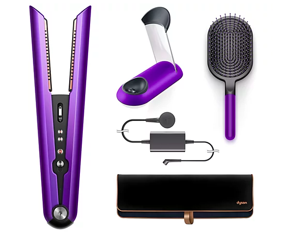 Enjoy plenty of accessories with your next-level hair straightener. (Photo: QVC)
