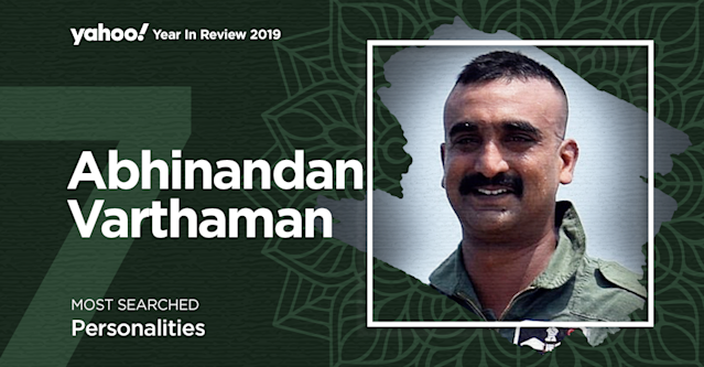 Wing Commander Abhinandan Varthaman who was held captive for 60 hours in Pakistan after his aircraft was shot down in an aerial dogfight during the 2019 India-Pakistan standoff was conferred the Vir Chakra gallantry award in August 2019. Videos and images released by Pakistani authorities showed Varthaman being rescued from a violent mob by Pakistani soldiers, being interrogated while tied and blindfolded with a bloody face. Other videos showed him receiving first aid and being further interrogated over tea. He received a hero's welcome after his release by the Pak Army and Indian showed respect by popularising his moustache which became trendy and came to be called the 'Abhinandan-cut'.