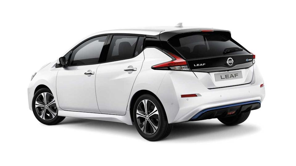 MY20 Nissan LEAF N Connecta Rear in the UK