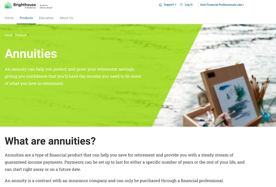 Brighthouse Financial Annuities Provider