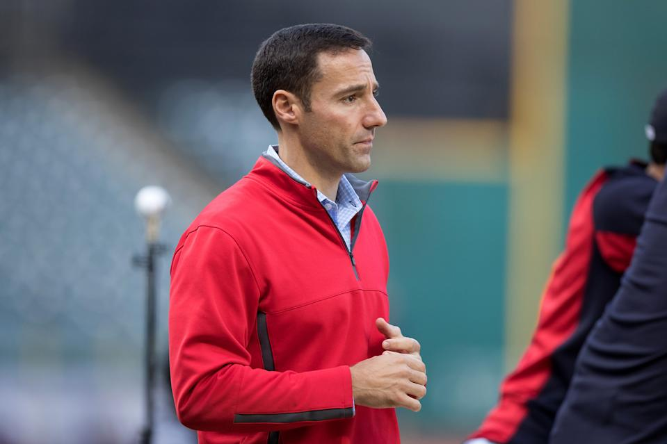 Chris Antonetti looking distraught.