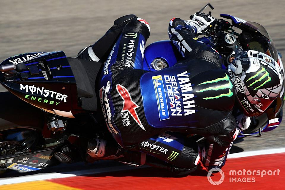 "Maverick Vinales, Yamaha Factory Racing <span class=""copyright"">Gold and Goose / Motorsport Images</span>"