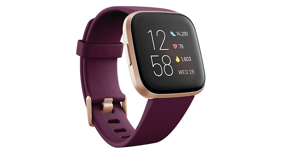Fitbit Versa 2 Health & Fitness Smartwatch with Voice Control