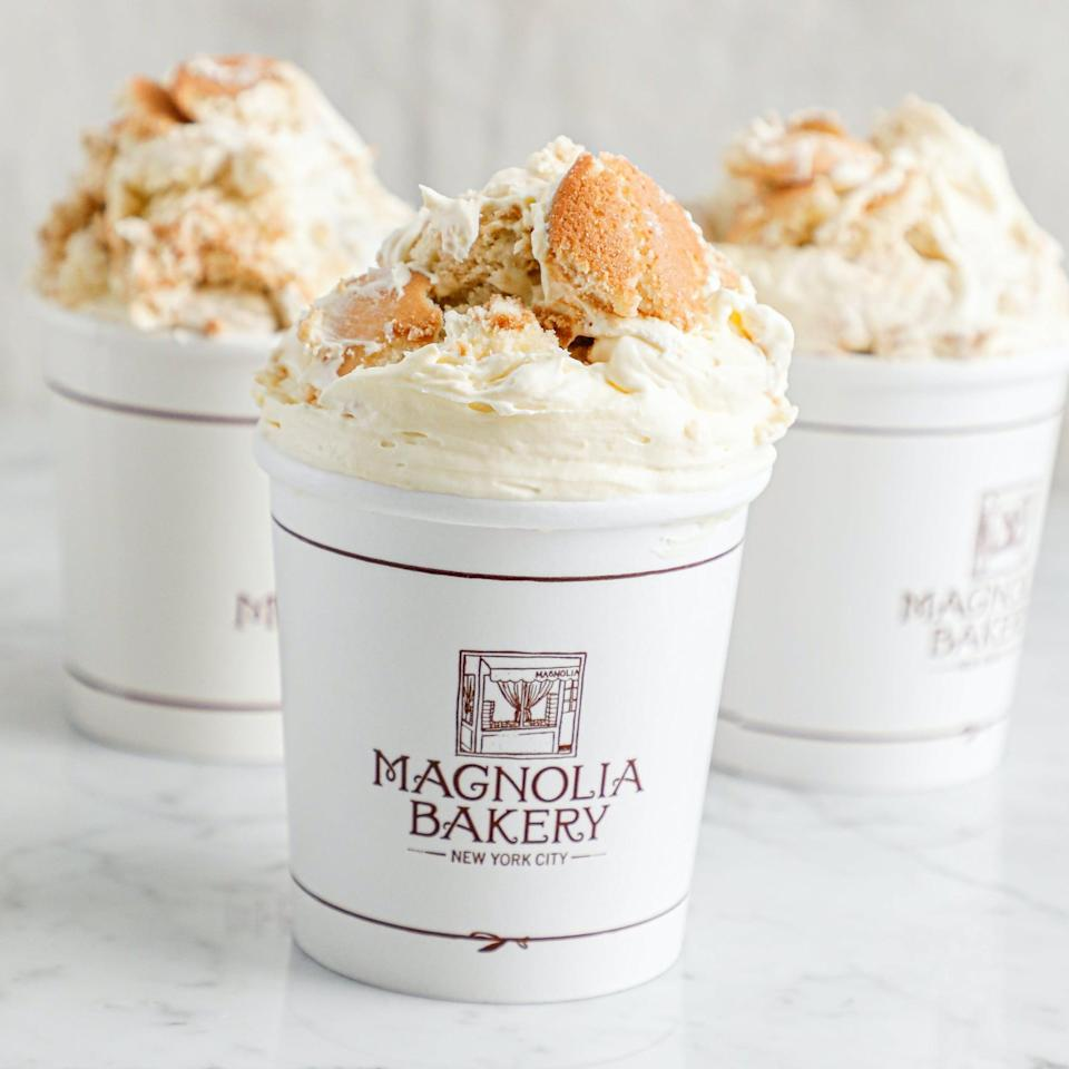 <p>We're drooling just thinking about this delicious <span>Magnolia Bakery World Famous Banana Pudding</span> ($65).</p>