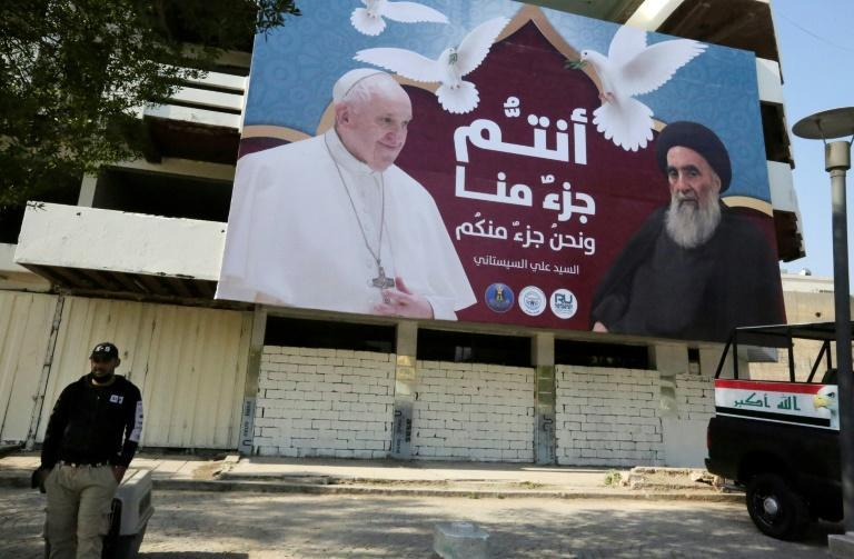 The pope will meet with Grand Ayatollah Ali Sistani, a top religious authority for many of the world's Shiite Muslims