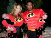 """<p>During their time as a couple, the two had fun dressing up with their twins for Halloween. The family suited up as The Incredibles one year, and have since enjoyed <a href=""""https://people.com/parents/mariah-carey-halloween-party-nick-cannon-kids/"""" rel=""""nofollow noopener"""" target=""""_blank"""" data-ylk=""""slk:getting into the Halloween spirit"""" class=""""link rapid-noclick-resp"""">getting into the Halloween spirit</a> every year since.</p>"""