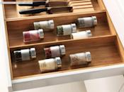 "<p>Every drawer will be as tidy as can be with the <a href=""https://www.popsugar.com/buy/Variera%20Utensil%2FKnife%20Tray-446961?p_name=Variera%20Utensil%2FKnife%20Tray&retailer=ikea.com&price=22&evar1=casa%3Aus&evar9=46151613&evar98=https%3A%2F%2Fwww.popsugar.com%2Fhome%2Fphoto-gallery%2F46151613%2Fimage%2F46152144%2FVariera-UtensilKnife-Tray&list1=shopping%2Cikea%2Corganization%2Ckitchens%2Chome%20shopping&prop13=api&pdata=1"" rel=""nofollow noopener"" target=""_blank"" data-ylk=""slk:Variera Utensil/Knife Tray"" class=""link rapid-noclick-resp"">Variera Utensil/Knife Tray</a> ($22).</p>"