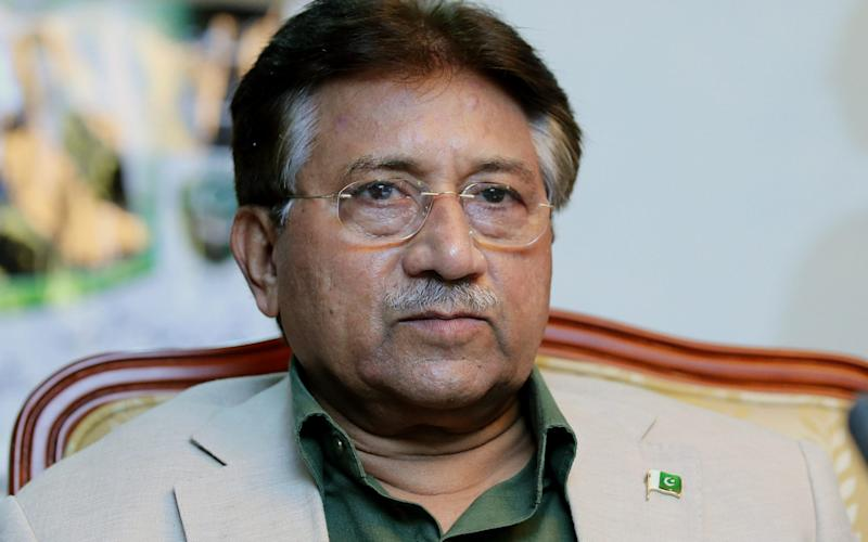 Gen Pervez Musharraf was a key ally of America and Nato during the early years of the war in Afghanistan - REX