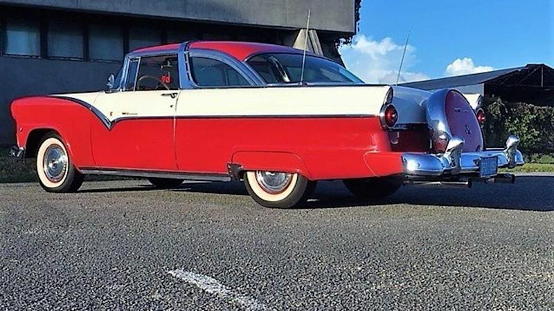 Stunning 1955 Ford Fairlane Crown Victoria Seeks New Suitor