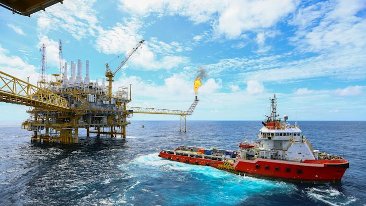 oil, gas, rig, resources, mining