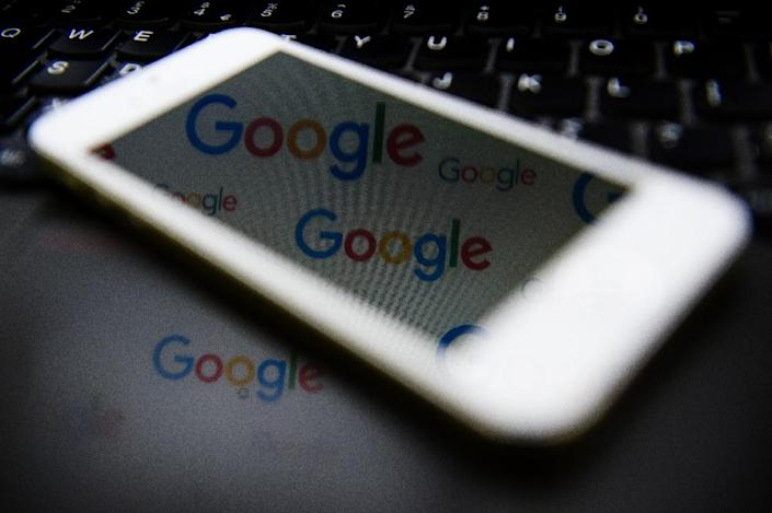 """Earlier this week, Google CEO Sundar Pichai said employees have a right to express themselves but that the memo appeared to """"cross the line by advancing harmful gender stereotypes in our workplace."""" (AFP Photo/LEON NEAL)"""