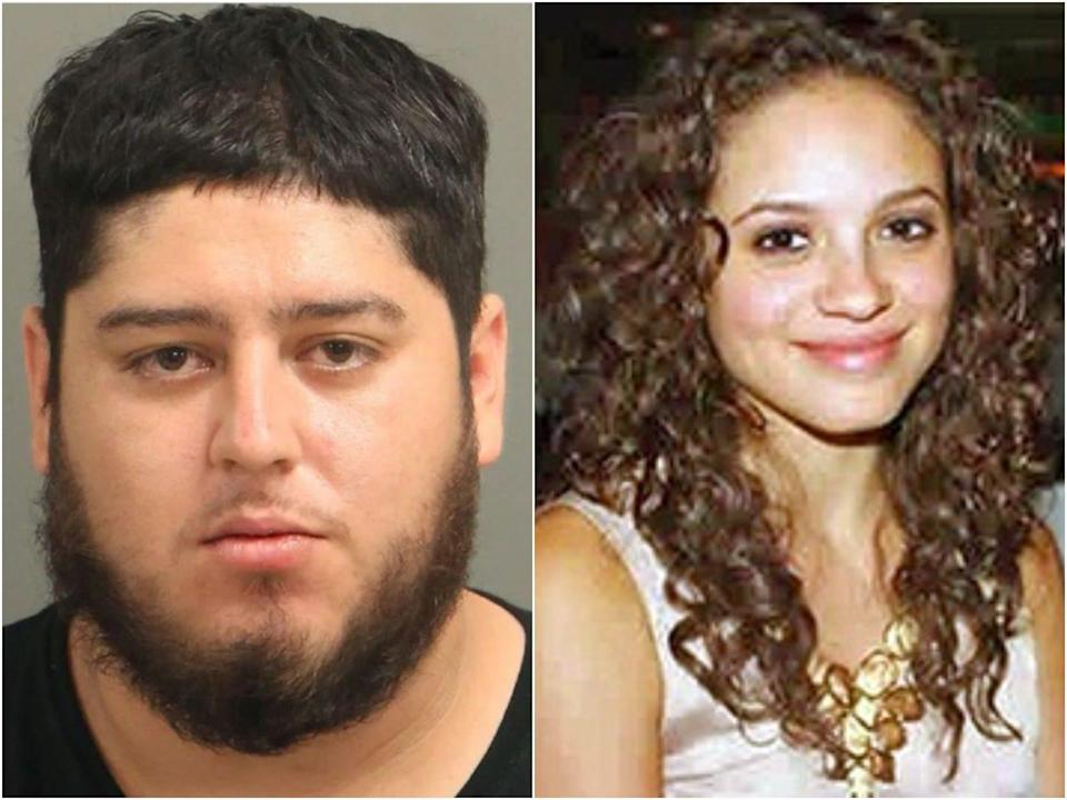 Miguel Enrique Olivares, 28, has been charged with first degree murder in the 2012 death of UNC student Faith Hedgepeth (Raleigh/Wake City-County Bureau of Identification / WRAL)