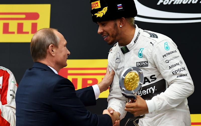 Hamilton has won two of the three races to be held at Sochi - 2015 Getty Images