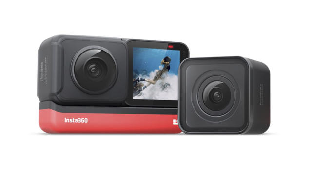 Insta360 One R is an adaptable modular action camera