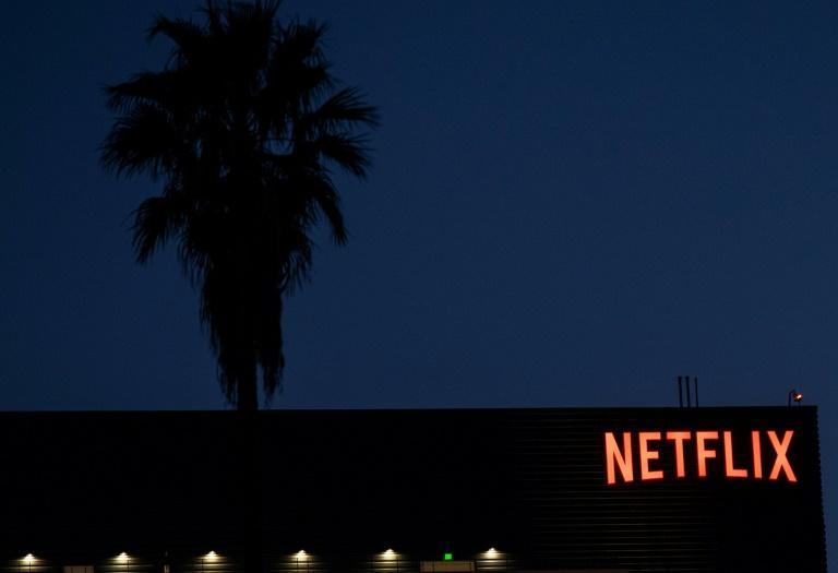Netlix is poised for a big haul on Emmys night -- and perhaps its first ever win in the top category of best drama (AFP/VALERIE MACON)