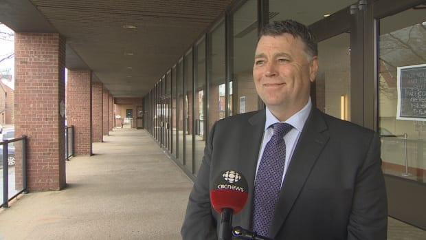 Regarding when P.E.I. would open to the rest of Canada, Premier Dennis King said it's still uncertain.   (Kirk Pennell/CBC - image credit)