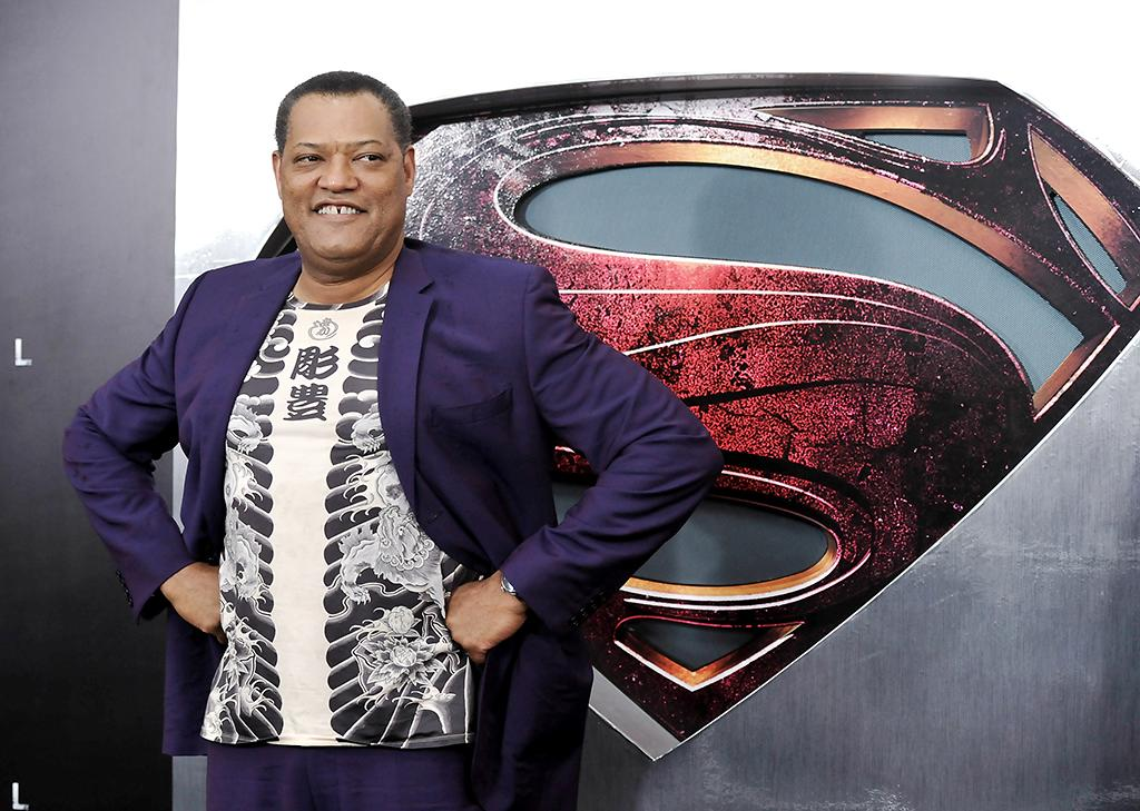 "Actor Laurence Fishburne attends the ""Man Of Steel"" world premiere at Alice Tully Hall on Monday, June 10, 2013 in New York. (Photo by Evan Agostini/Invision/AP)"