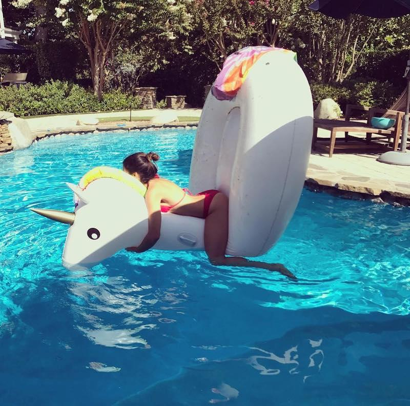 """<p>Oops! """"Sexy unicorn fail,"""" wrote the actress, who was in a red string bikini when she accidentally plunged. We wonder if her hubby, Channing Tatum, captured this winning shot. Whoever it was, thanks! (Photo: <a rel=""""nofollow"""" href=""""https://www.instagram.com/p/BYMafp5nwsw/?hl=en&taken-by=jennadewan"""">Jenna Dewan via Instagram</a>)<br /><br /></p>"""