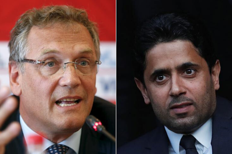 Former FIFA Head Jerome Valcke Charged with Corruption, PSG President Nasser Al-Khelaifi of Bribing