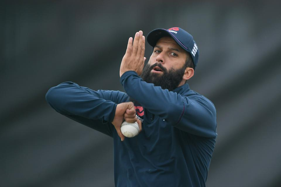 <p>Moeen Ali tested positive for Covid-19 upon England's arrival in Sri Lanka</p> (Getty Images for ECB)
