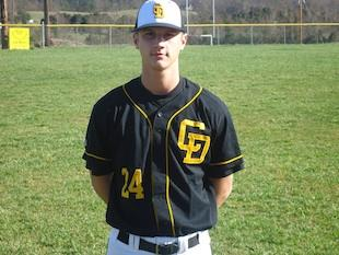 Chuckey-Doak baseball star Jameson Painter — Contributed photo