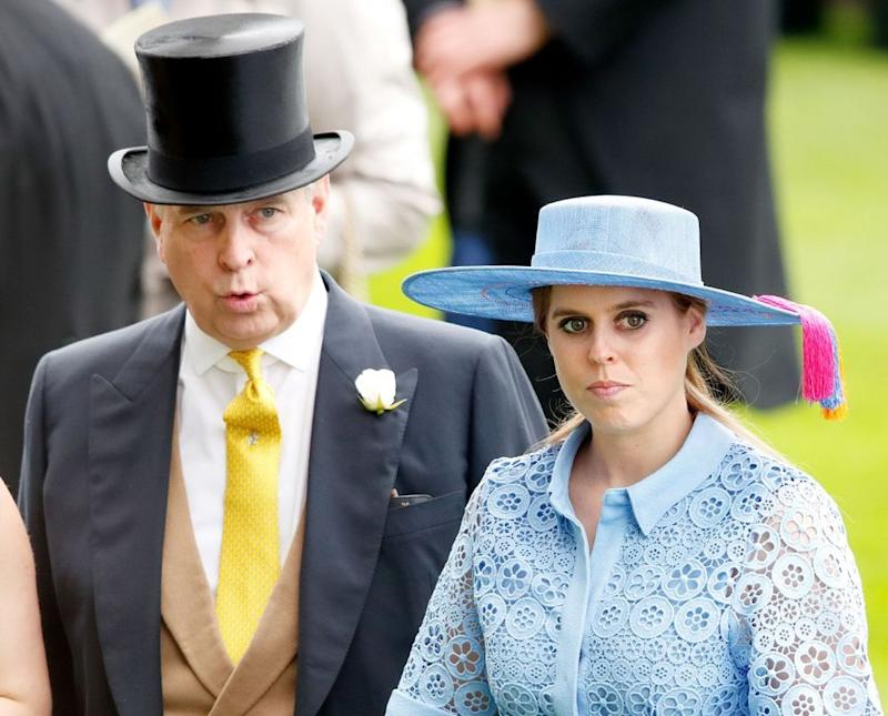 Prince Andrew and Princess Beatrice | Max Mumby/Indigo/Getty