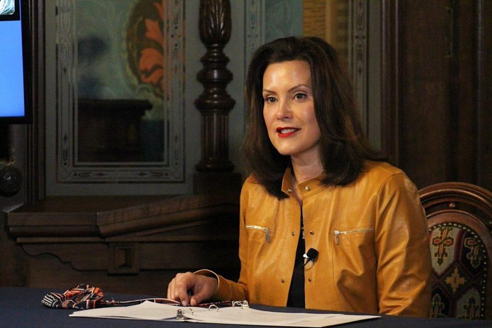 Gov. Gretchen Whitmer's restrictions in response to the coronavirus epidemic have led to protests in Michigan.