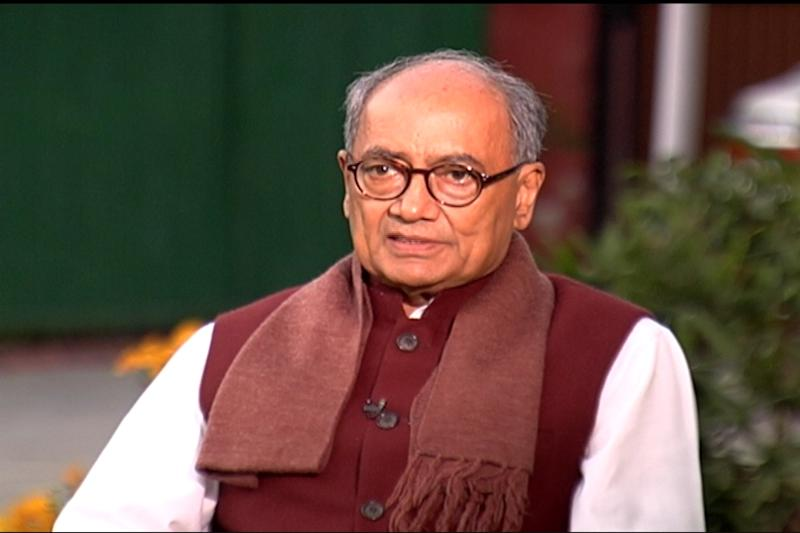 All Hindus Arrested for Terrorism Linked to RSS, Says Digvijaya Singh