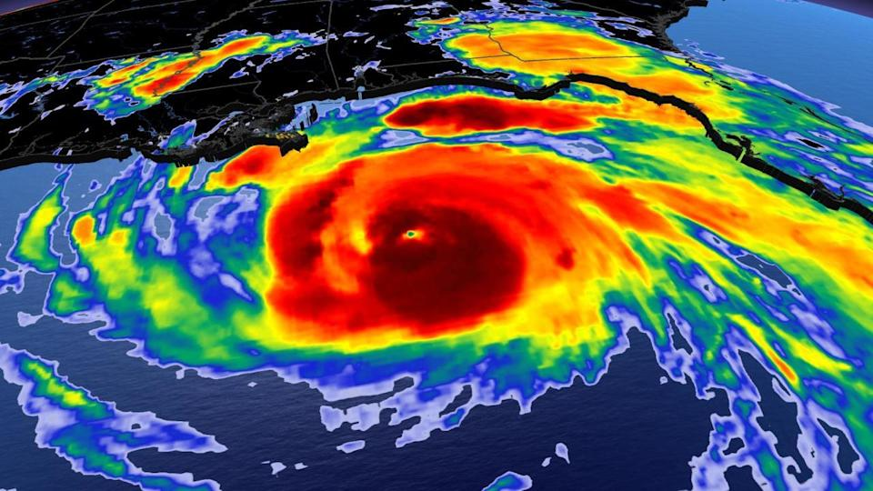 Hurricane Ida rapidly intensifying in the Gulf as it heads for Louisiana