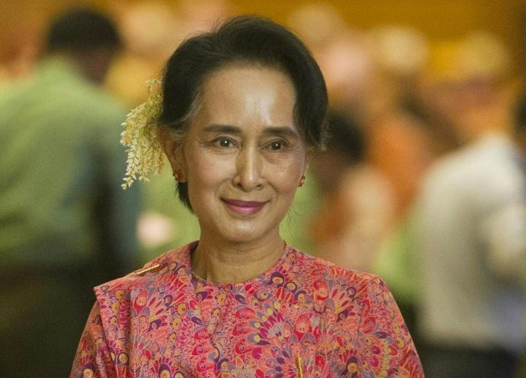 Aung San Suu Kyi is barred from becoming president by Myanmar's junta-era constitution