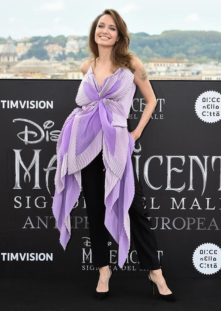 Angelina Jolie Looked Like A Real Life Butterfly At The Latest