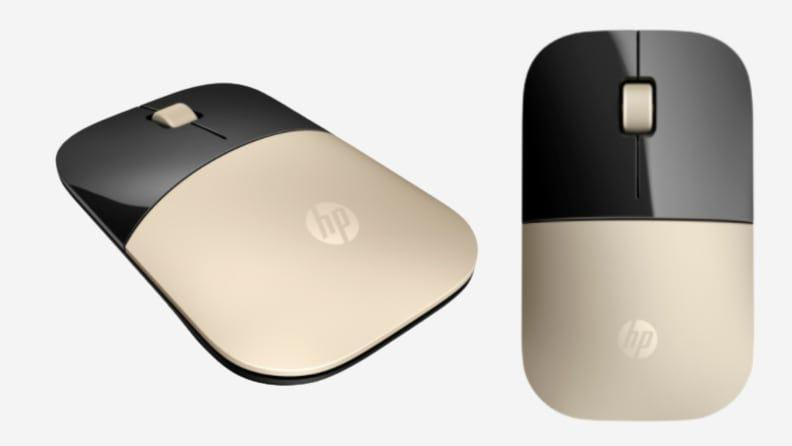 This sleek wireless mouse comes in multiple colors and is compatible with a variety of computers
