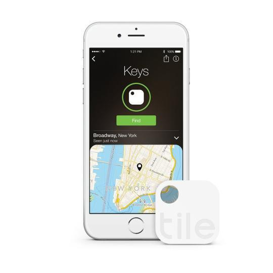 """<p>If you're the absent-minded sort, this <a href=""""https://www.thetileapp.com/"""" rel=""""nofollow noopener"""" target=""""_blank"""" data-ylk=""""slk:tiny Bluetooth"""" class=""""link rapid-noclick-resp"""">tiny Bluetooth</a> that attaches to your keys, your cell phone, your wallet — whatever you're constantly losing — will be your new best friend. You can quickly find whatever you've misplaced, either by logging into the app or by enabling a Find My iPhone-like noise.</p>"""