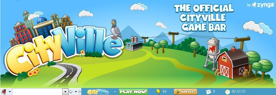 official cityville game bar zynga now avaiable