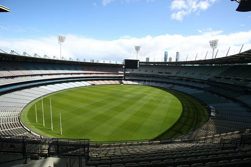 The Melbourne Cricket Ground has a capacity of 100,024.
